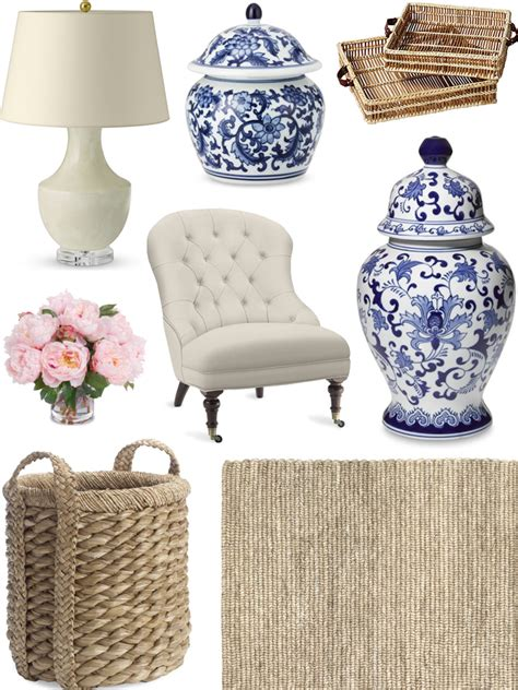 chic coastal living fall refresh for the home blue