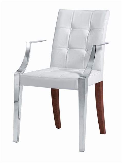 small white armchair monseigneur padded armchair small leather white