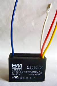 Ceiling Fan Capacitor Replacement 4 Wire Ceiling Fan Capacitor Cbb61 4uf 4 5uf 5uf 4 Wires Ebay
