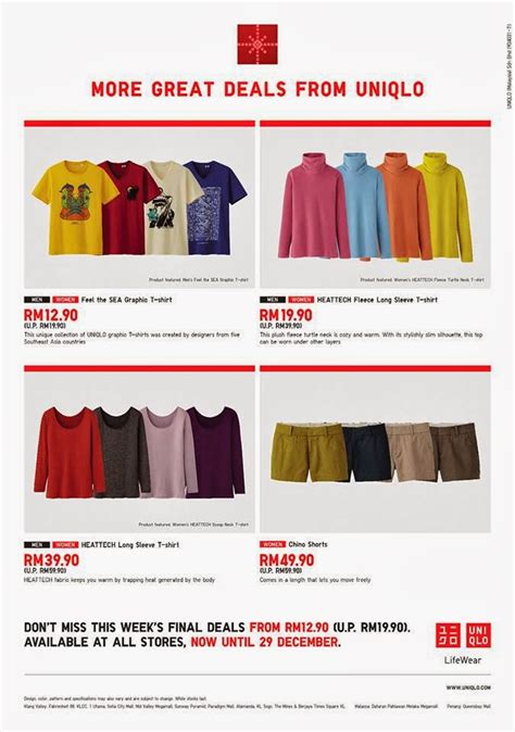uniqlo new year promotion i freebies malaysia promotions gt uniqlo year end