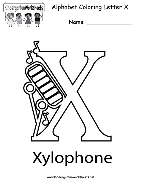 Letter X Coloring Pages Preschool by 8 Best Images Of Printable Letter X Worksheets Letter X