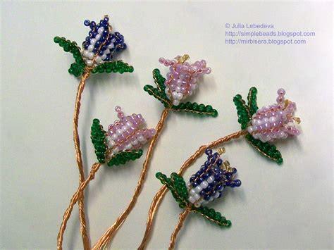 how to bead a flower beading for the beginners bellflower