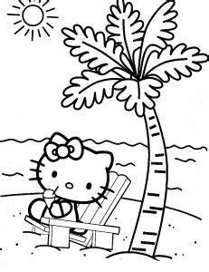 √Kumpulan Gambar Mewarnai Hello Kitty Untuk Anak SD, TK