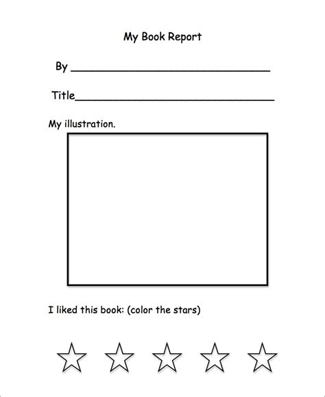 Free Book Report Templates For Kindergarten K Is For Kindergarten L Is For Listen