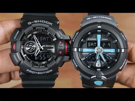 Casio G Shock Ga400 4 5cm casio g shock ga 400 1b vs g shock ga 500p 1a