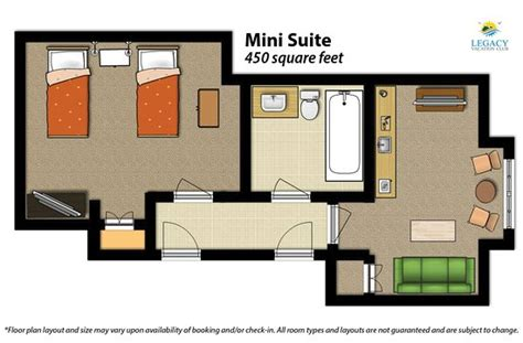 Floor Plan Of A Spa legacy vacation resorts 101 1 1 5 specialty resort