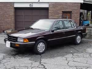 1993 dodge spirit sedan specifications pictures prices