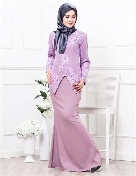 Baju Kurung Warna Pink Purple baju kurung moden serena purple lovelysuri