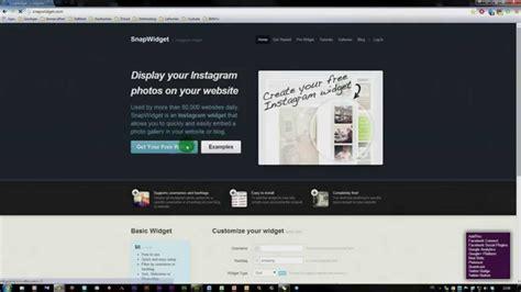 instagram widget tutorial adobe muse cc instagram widget einbinden youtube