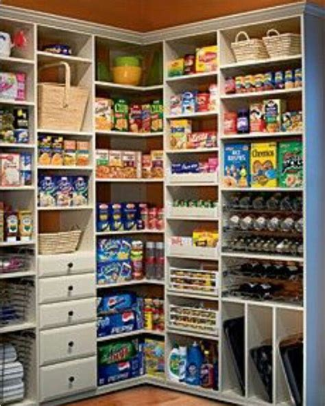 Food Pantry Designs Pantry Storage Idea For The Home