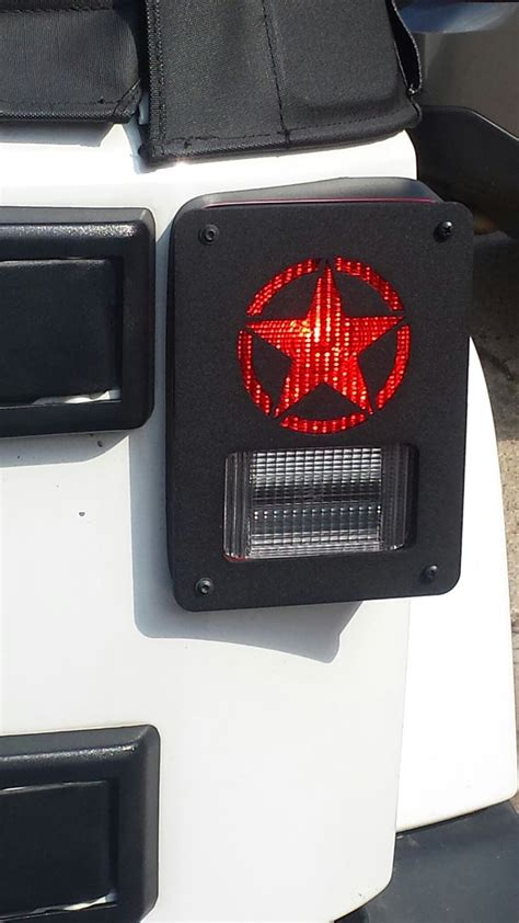 jeep lights on top 47 best jeep wrangler taillight guards covers by dnajeep