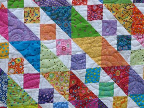 Bright Colored Quilts by 3 Quilts 1 Pattern Roth Quilter