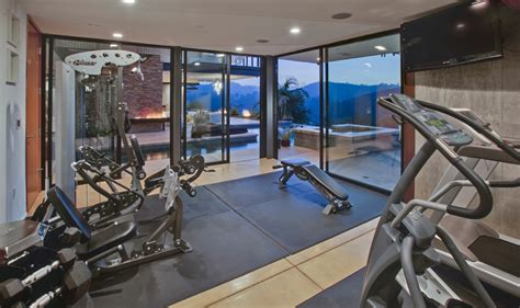 home exercise fitness room design ideas room