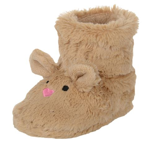 bunny rabbit slippers child pink bunny rabbit brown mouse bootie slippers faux