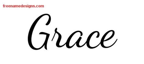 grace name tattoo designs lively script name designs grace free printout