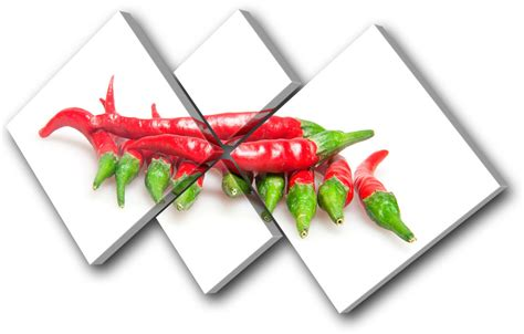 food kitchen red chili peppers single canvas wall art food kitchen chili peppers multi canvas wall art picture