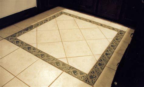 floor tile border stoneware tile