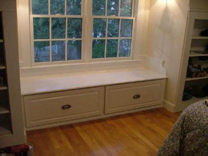 Window Seat With Drawers by Window Bench With Drawers For The Home