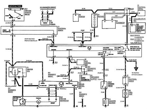 mercedes color code electrical wiring diagram 28 images