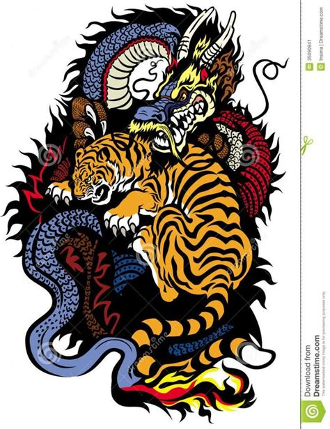 chinese dragon and tiger tattoo designs best 25 tiger design ideas on tiger