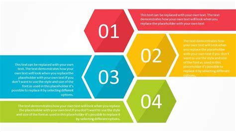 hexagon list powerpoint template