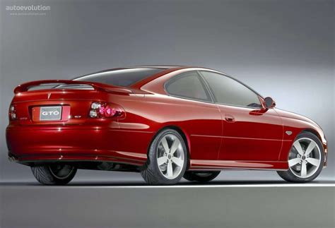 pontiac gt 2003 pontiac gto specs 2003 2004 2005 2006 autoevolution