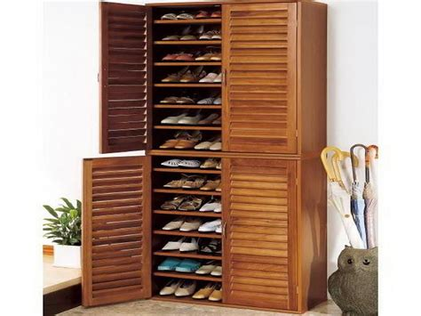 Large Shoe Storage Cabinet Bloombety Wooden Shoes Cabinet Organizer Shoes Cabinet Organizer For Your Shoes Collection