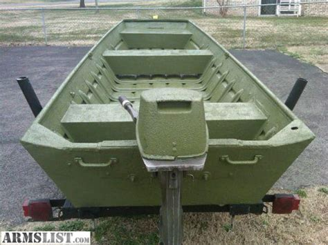 14 ft aluminum jon boat weight armslist for sale trade 14ft aluminum jon boat w 15hp
