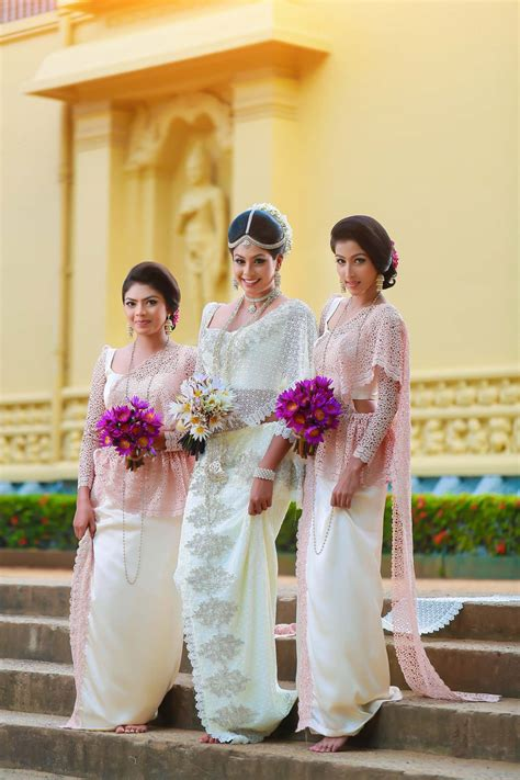 Sri Lankan Wedding by Dress By Subash Bridal Sri Lanka Sri Lankan Weddings