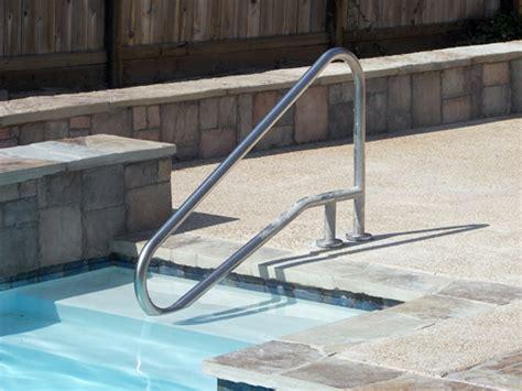 pool handrails  aqua magic pool spa san diego full