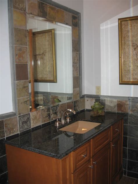 new slate bathroom slate bath eclectic bathroom new york by toni sabatino