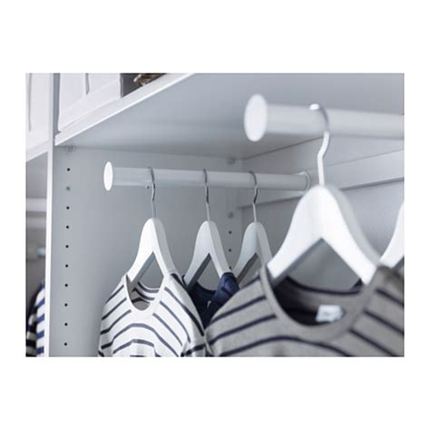 pull out wardrobe rail ikea komplement pull out clothes rail white 100x35 cm ikea
