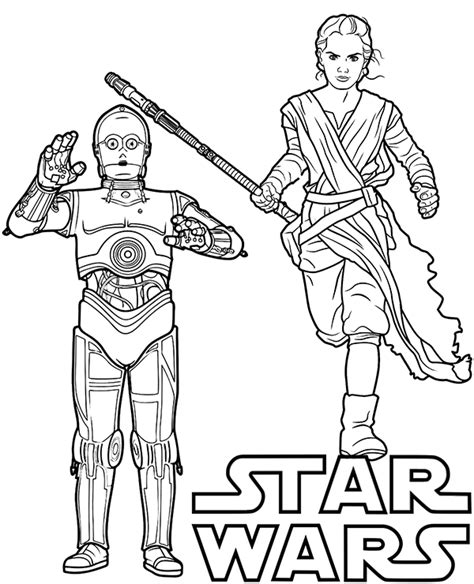 C 3po Coloring Pages by And C 3po On Wars Printable Coloring Page Sheet