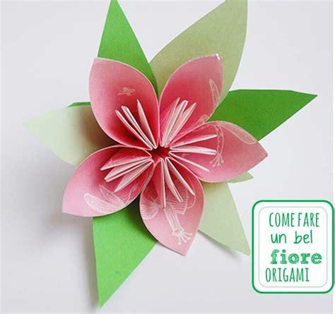 come fare fiore di carta fiori di carta idee materiali e tutorial guidati per