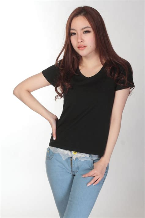 Dress Wanita Size S M L Xl Grosir Murah Blouse Dress Ib019 kaos polos katun wanita v neck size s 81105 t shirt white jakartanotebook