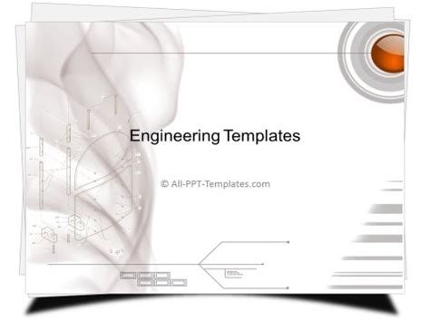 Powerpoint Engineering Templates Main Page Engineering Drawing Ppt