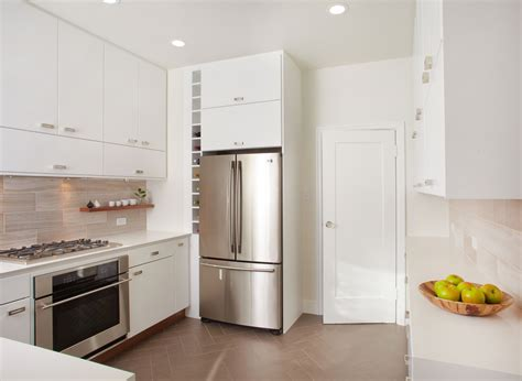 white gloss kitchen ideas amazing white gloss kitchen cabinetry set also chrome refrigerator shelves as decorate in small