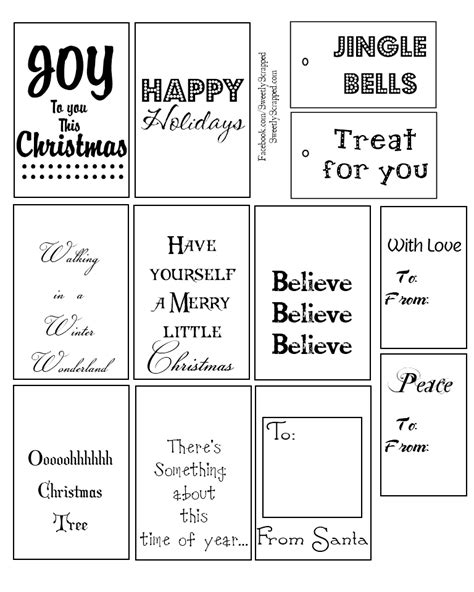 free printable christmas tags black and white sweetly scrapped 12 days of christmas giveaway and free