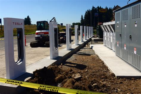 Supercharger Stations For Tesla How To Build A Tesla Supercharger Station