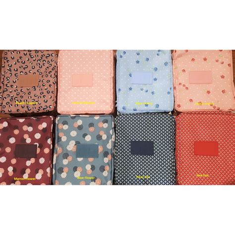 Tn012 Tas Kosmetik Travel Bag Korean Multi Pouch Cosmetic Toiletries 1 korea flower multi pouch ver 2 tas kosmetik travel