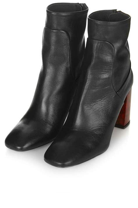 Boot Heels master tortoiseshell heel boots topshop
