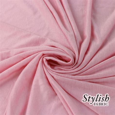 baby jersey knit fabric baby pink rayon jersey knit fabric pink tissue knit fabric by