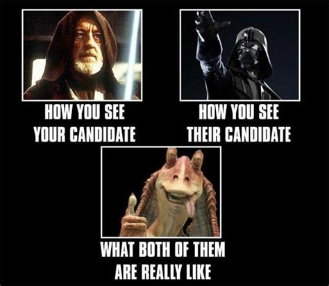 Star Wars Day Meme - funny star wars memes with a political twist