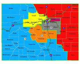 colorado congressional district map on the road again redistricting meeting tonight in