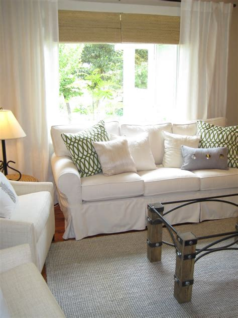living room with white sofa pottery barn sofa guide and ideas midcityeast