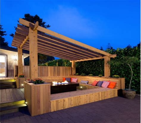 deck with pergola ideas pergola gazebos