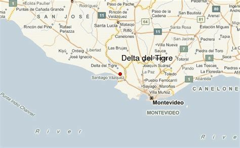 san jose uruguay map delta tigre location guide
