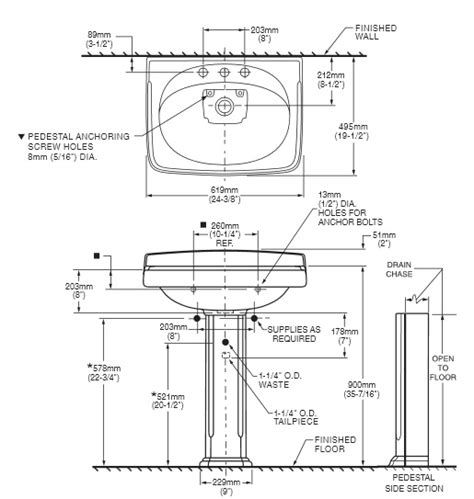rough in measurements for bathroom sink standard bathroom sink size dimension of the bath in