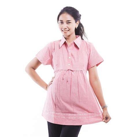 Baju Atasan Menyusui jual baju atasan ibu menyusui kerja katun