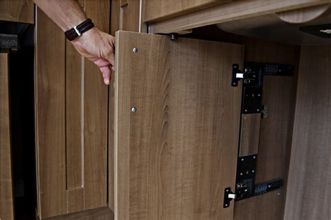 Flexhousing Kitchen Cmhc Retractable Cabinet Doors